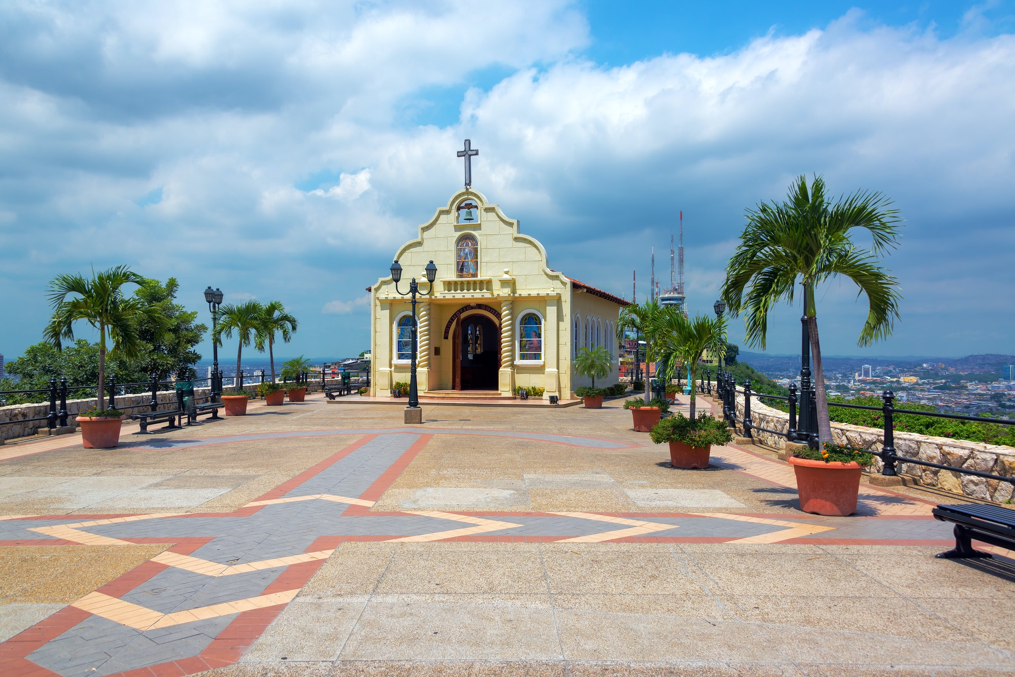 Church in Guayaquil, Ecuador