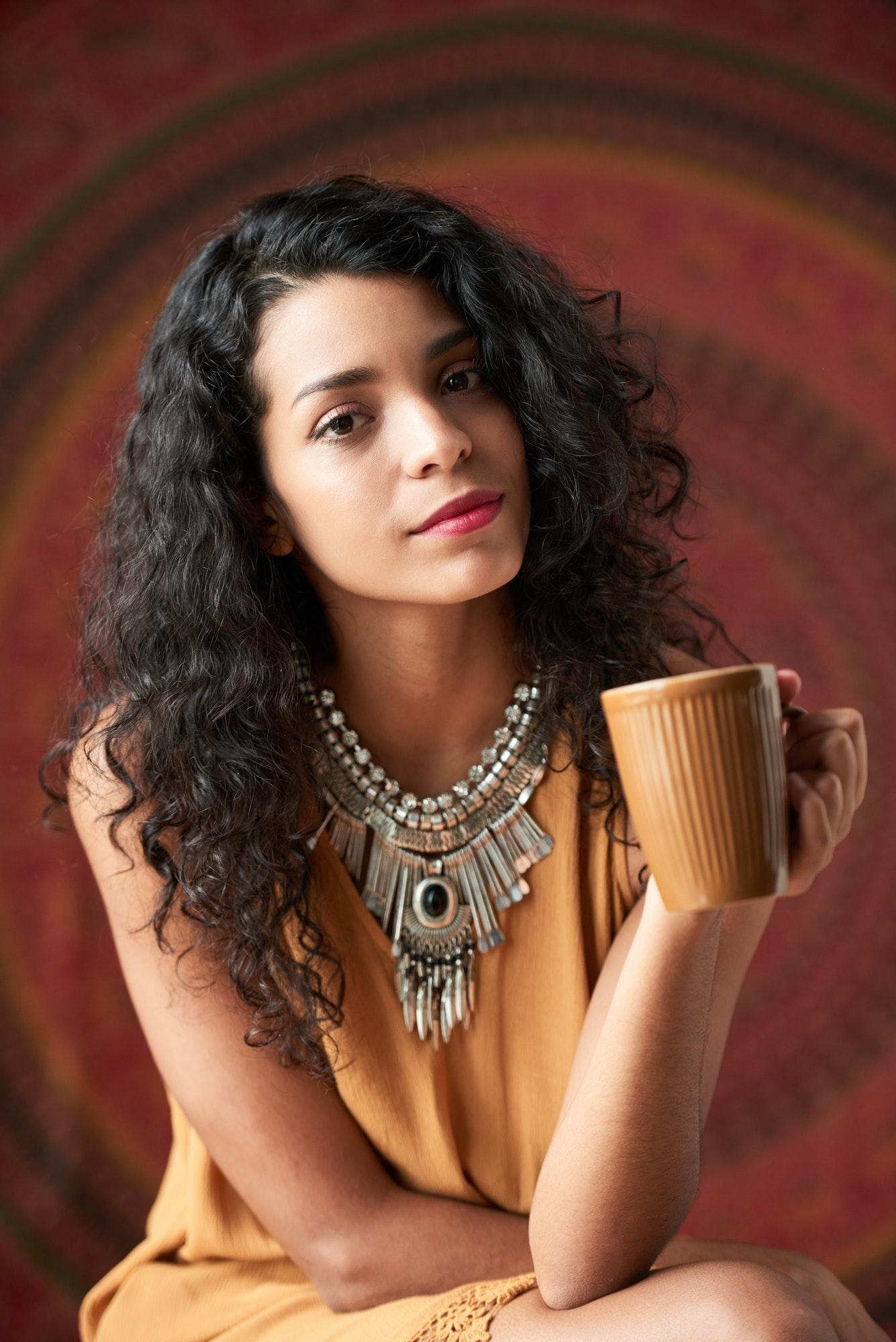 Beautful Hispanic woman